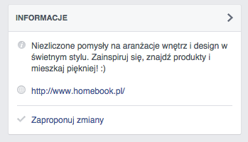 profil homebook