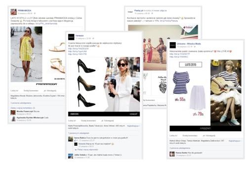 posty produktowe na facebooku